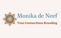Logo Monika de Neef - True Connections Branding - Arab style Mandala logo